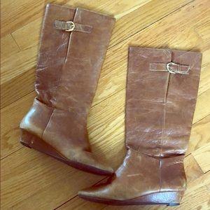 Steve Madden chestnut boots